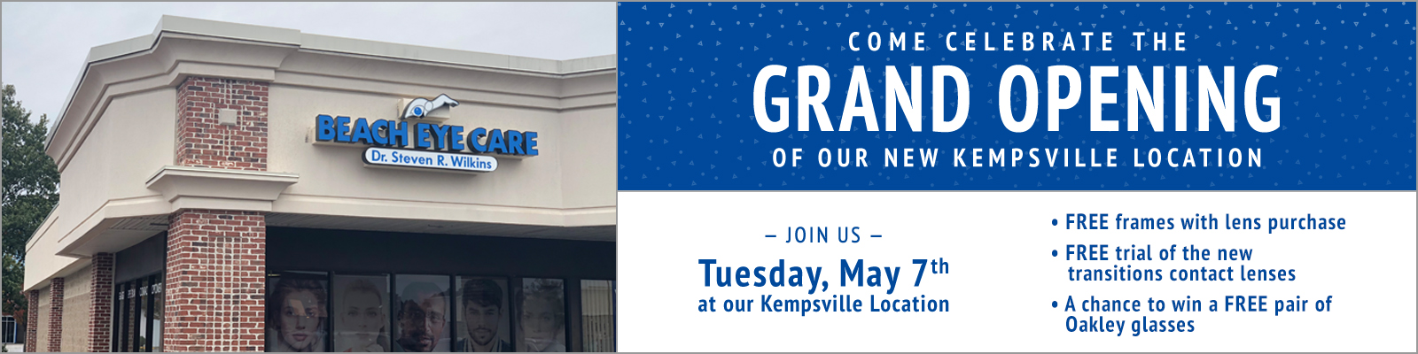9f81b84c9e5 Come celebrate the Grand Opening of our Kempsville Location!
