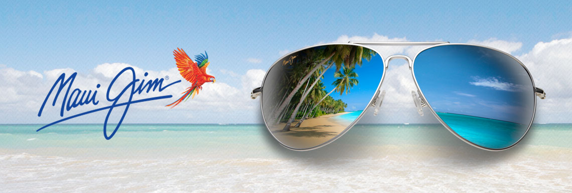 Maui Jim Sunglasses at Beach Eye Care