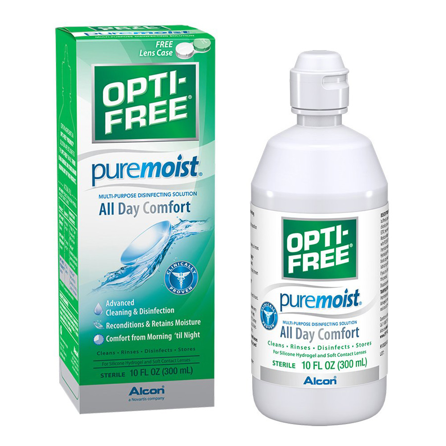 Opti-Free Pure Moist All Day Comfort Solution