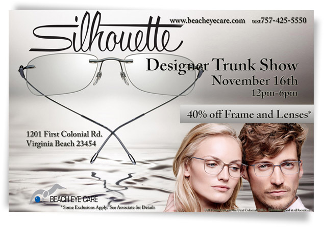 Designer Trunk Show - Nov 16