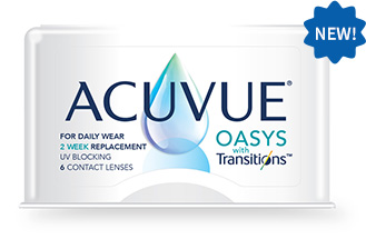 New Acuvue Transition Lenses